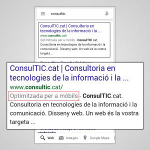 Búsqueda de ConsulTIC.cat optimizada para móviles